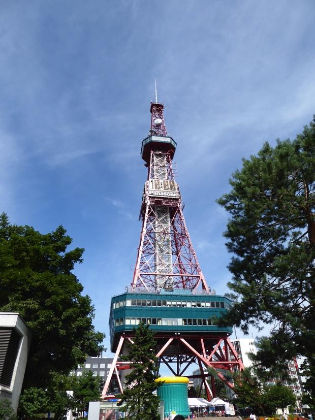 イベント開催場所のテレビ塔