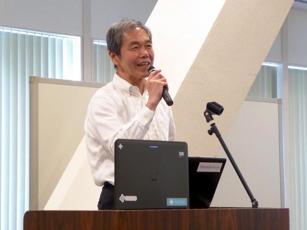 IoTビジネス共創ラボの幹事会社、東京エレクトロンデバイス株式会社 IoTカンパニー バイスプレジデントの福田良平さん