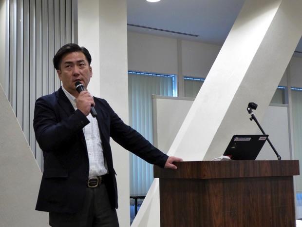 日本ユニシス株式会社全社プロジェクト推進部IoTビジネス開発室新井康治さん