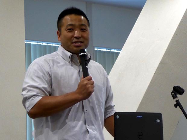 北海道IoTビジネス共創ラボの発起人であり、エコモット株式会社代表取締役の入澤拓也さんから