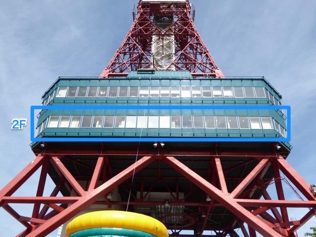 さっぽろテレビ塔2F