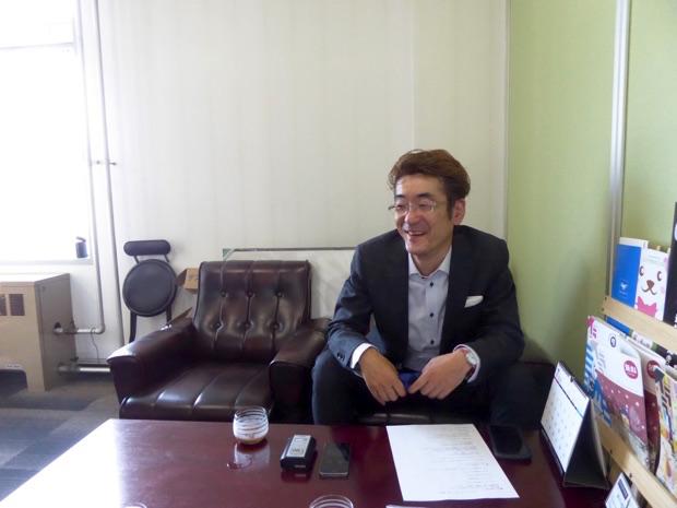 ステージハンド代表取締役重泉さん引き