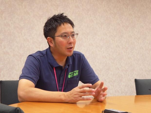 札幌市青少年科学館の学芸課展示係長の埀石寛史(たるいしのりふみ)さん