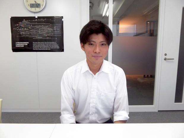 インターンシップ生の郡司貴明さん