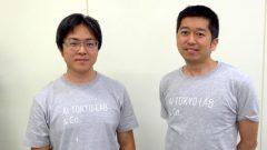 (写真左)AI HOKKAIDO LABの所長の土田安紘さん(写真右)AI TOKYO LAB株式会社、代表取締役社長の北出宗治さん