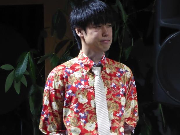 講師の大澤龍一さん。専門学校で教える先生です