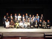 受賞発表後は発表者と審査員で記念撮影
