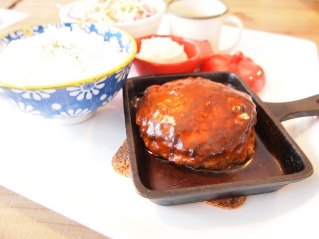 東札幌・moji_moji café(モジモジカフェ)で自家製の絶品ハンバーグを食べてみた!