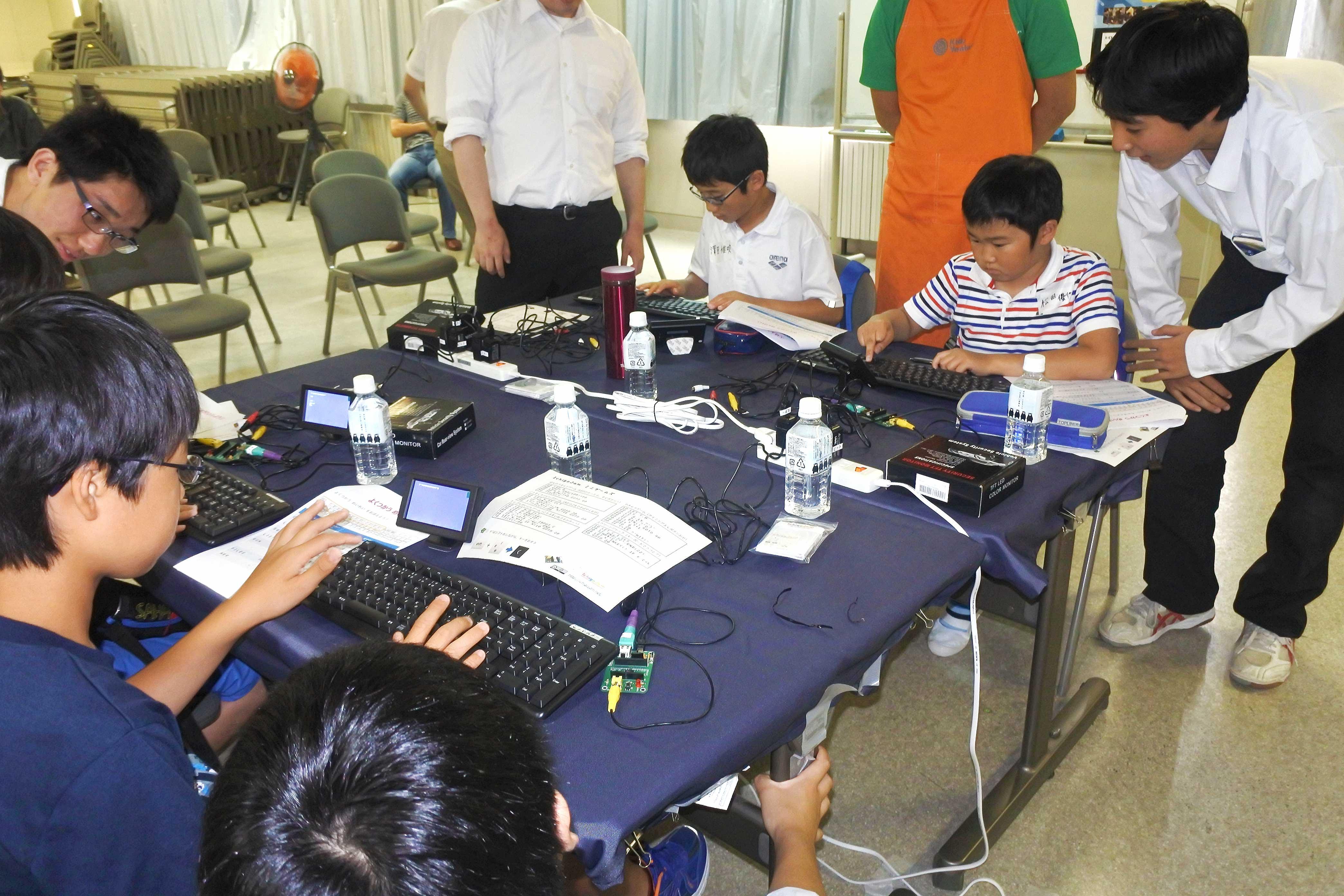 琴似工業高校で開催したKidsVentureとの共同企画「夏休みものづくり教室」に行ってみた!