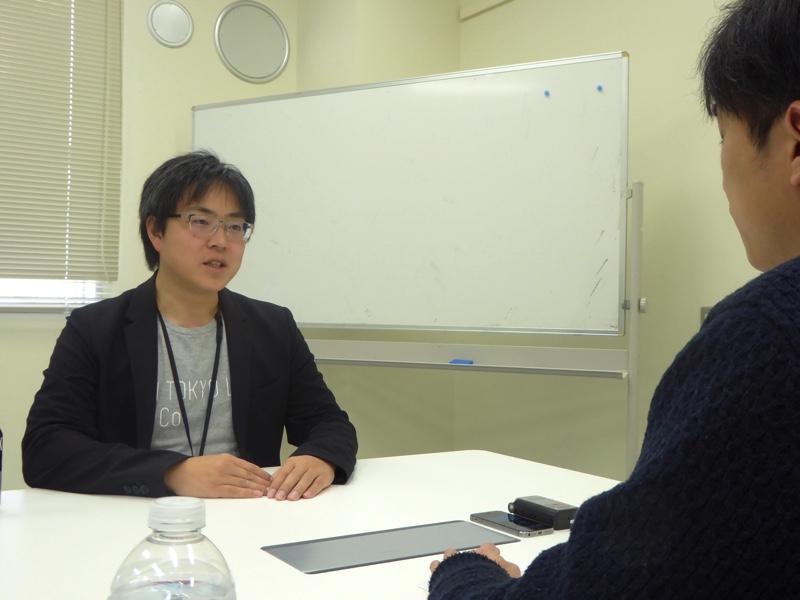 AI HOKKAIDO LAB所長の土田安紘さん(左)