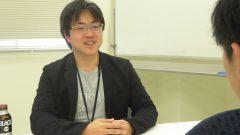 インタビュー終わりのAI HOKKAIDO LAB所長の土田安紘さん