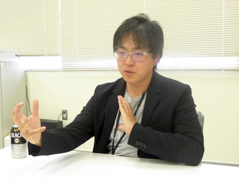 真剣に語るAI HOKKAIDO LAB所長の土田安紘さん
