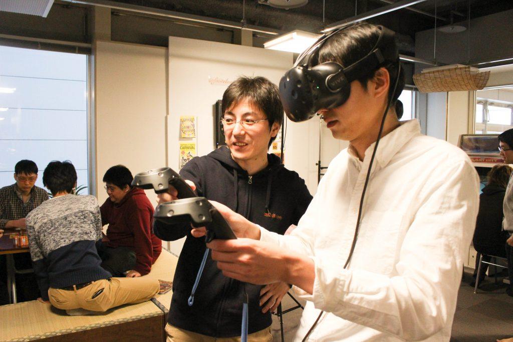 VR体験1