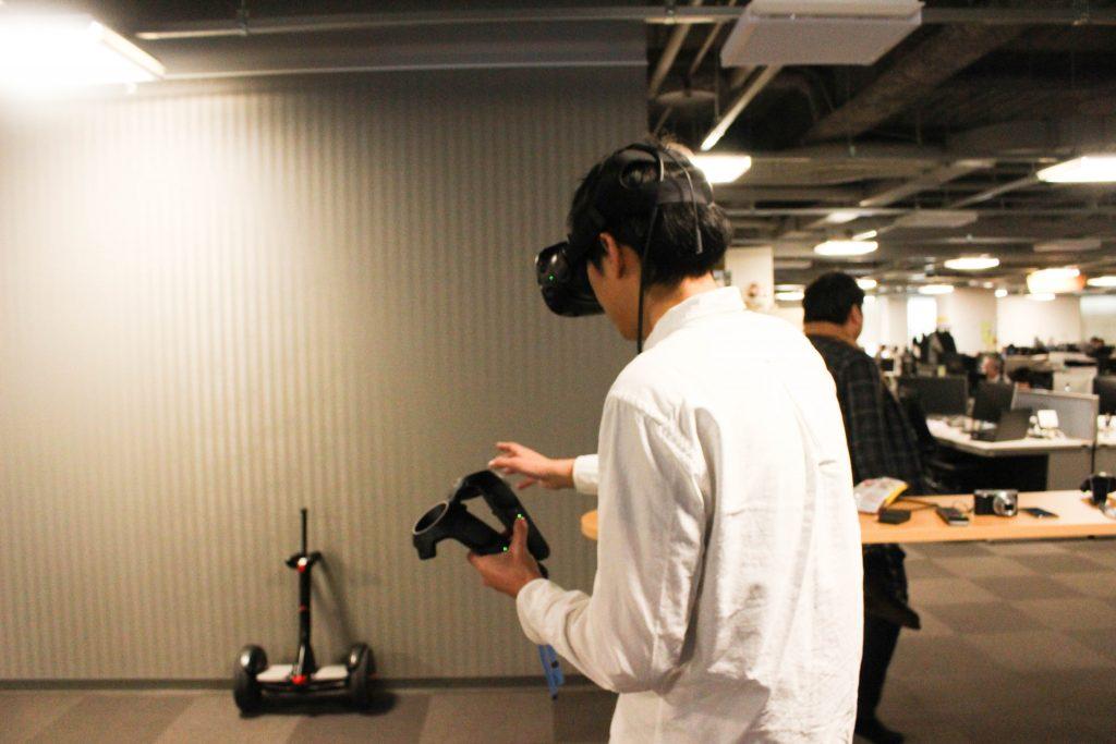 VR体験4