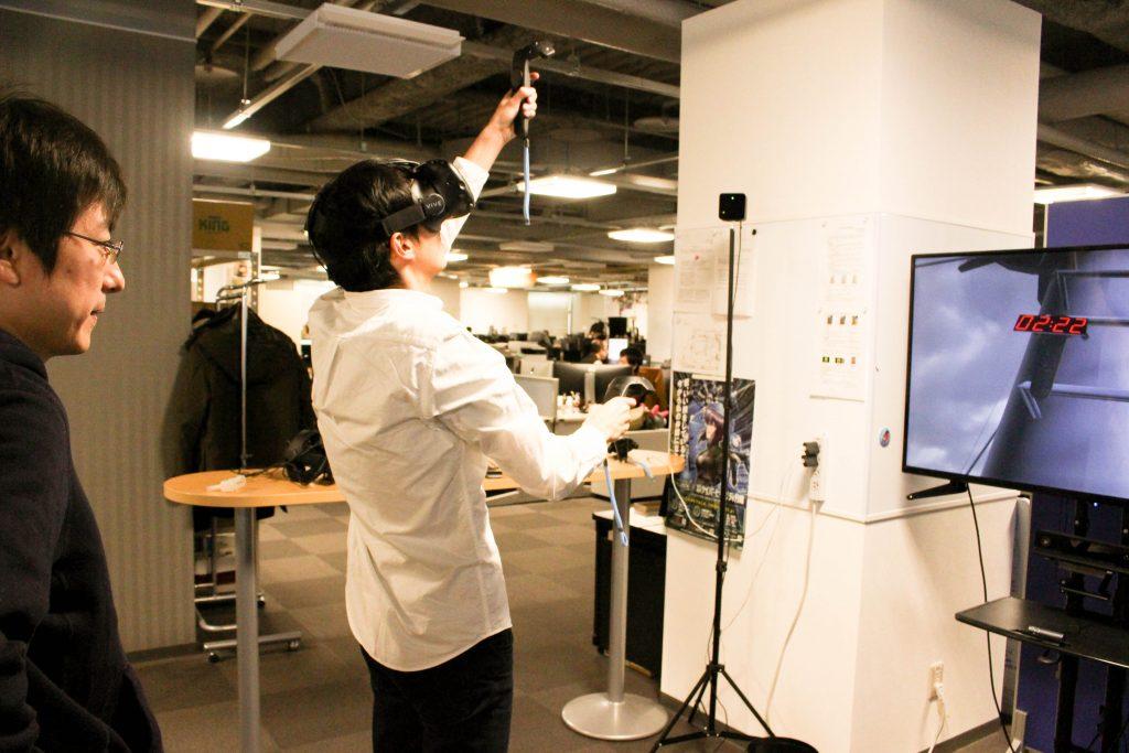VR体験5