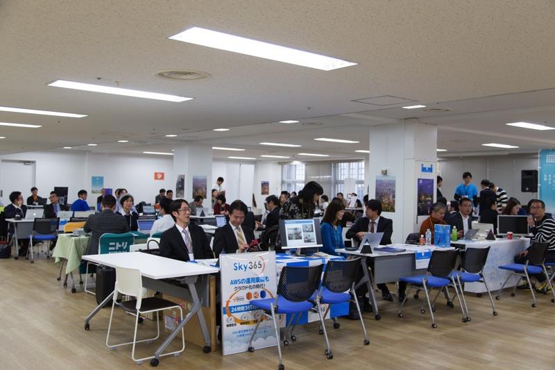 札幌市ITエンジニア、クリエイター・UIJターン合同フェアの様子(別角度)