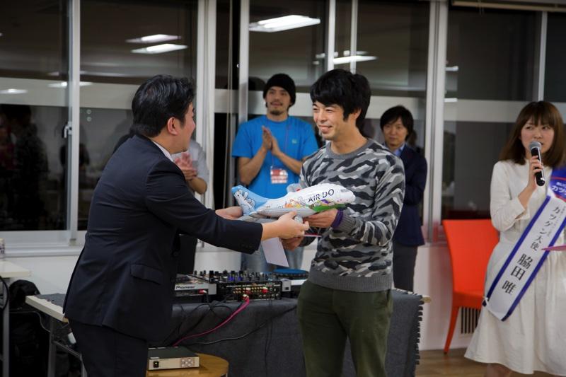 みんなの札幌移住計画3の「HOKKAIDO LOVERS 道産子格付けグランプリ」優勝者にAIRDO航空券贈呈