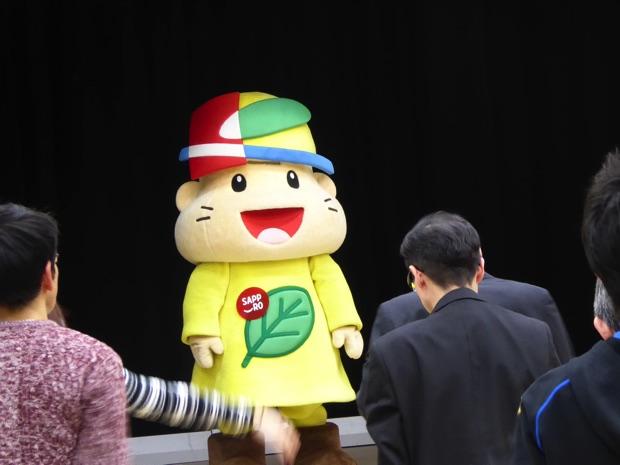 スペシャルゲストは清田区の公式マスコット、きよっち