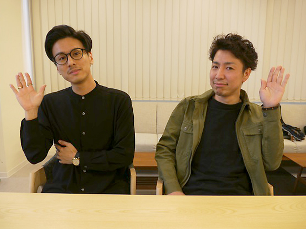 FREE-WORKS 大瀧さんと日下さん1