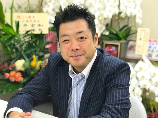 代表取締役 新山さん