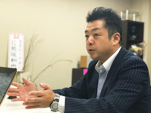 イークラフトマン 代表取締役 新山さん