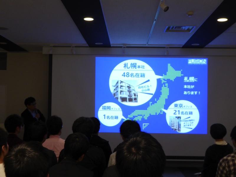 札幌、東京、福岡に事務所があります。札幌事務所は2018年5月に駅前に引っ越し予定です。