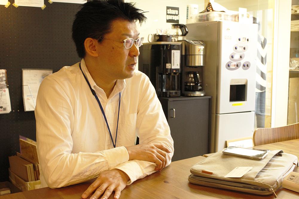 SHARE斉藤社長