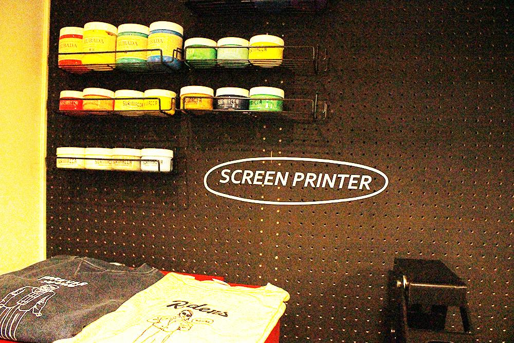 SHAREスクリーン印刷機