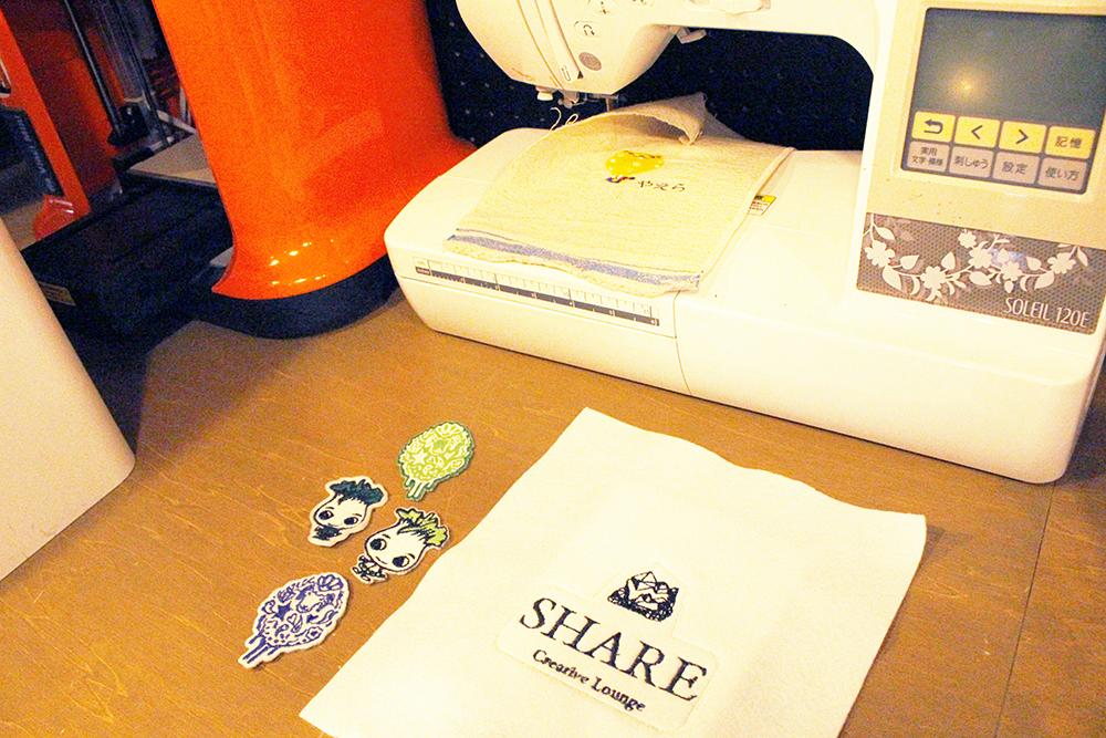 SHARE刺繍ミシン