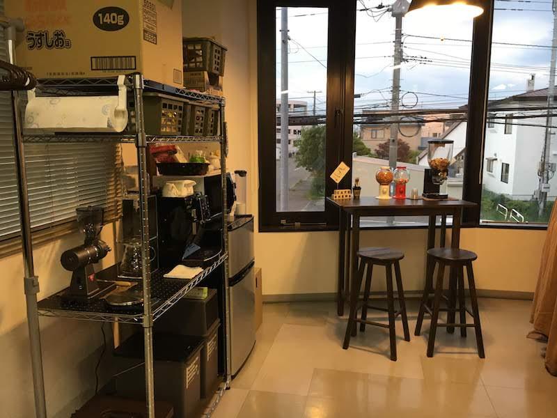 RHEMS技術研究室のカフェブース