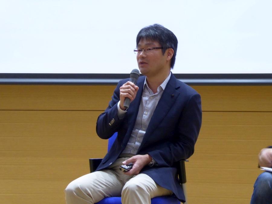 北海道大学調和系工学研究室教授 川村秀憲さん