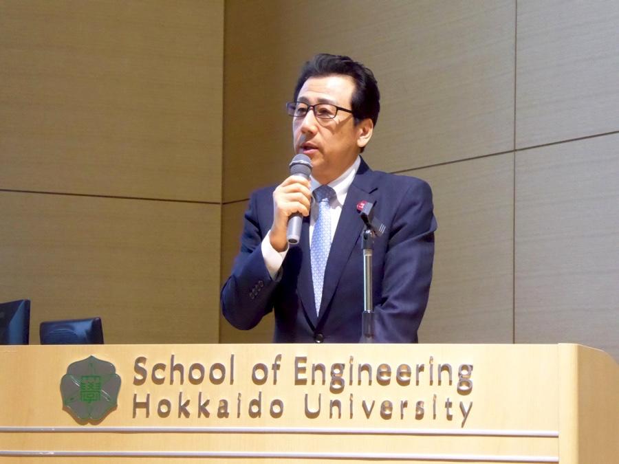 さっぽろ産業振興財団理事⻑ 秋元克広さん