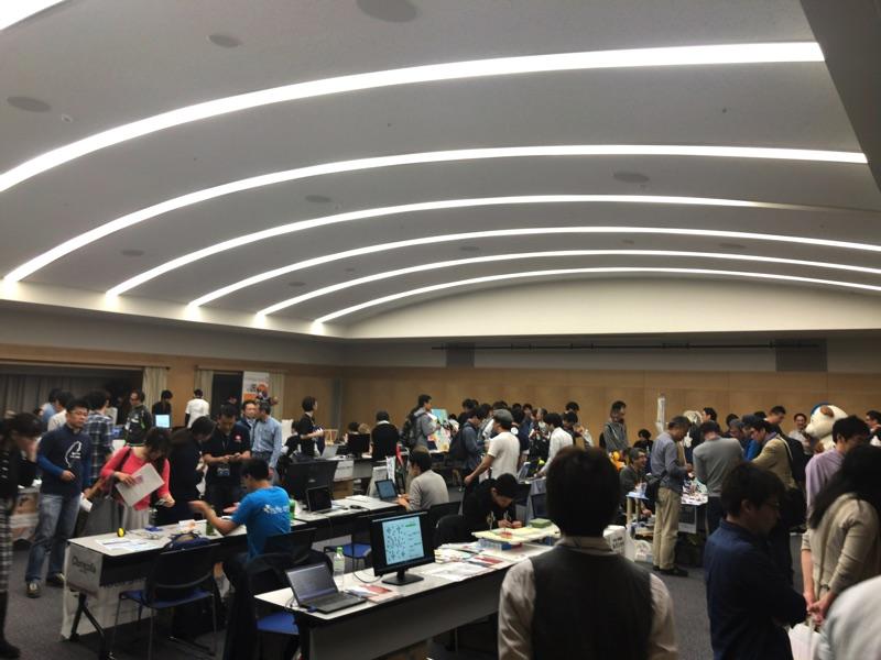 オープンソースカンファレンス2018 Hokkaidoに行ってみた!展示ブース編