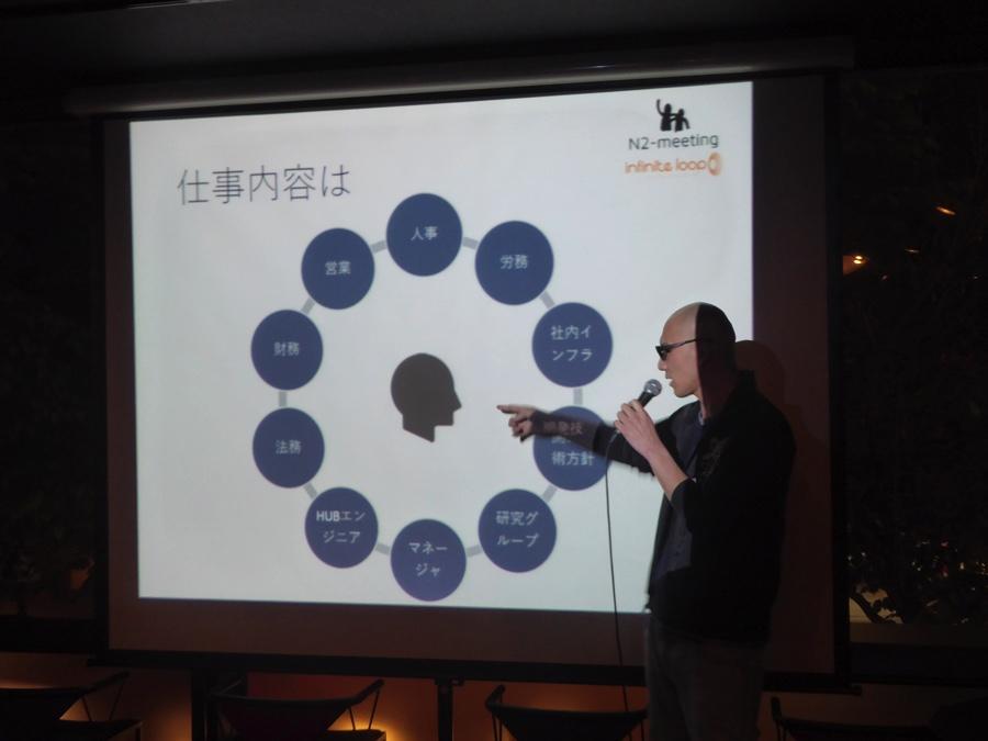 インフィニットループ小野真弘さんの仕事内容は多岐に渡る