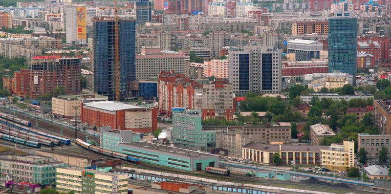 ノボシビルスク市内(同市公式サイトから)