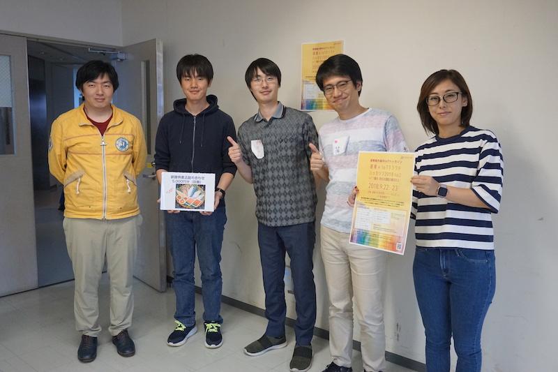 特別賞 交通機関利用型高度情報拠点システム「TRAIB」(KATAKUNA Engineeringチーム)