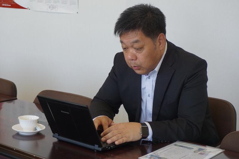 釧路ITクラスター推進協会 中島会長