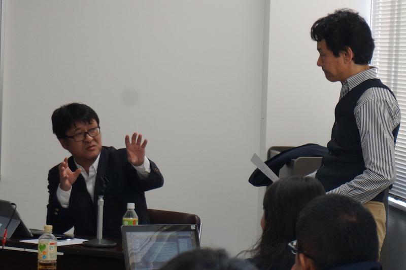 小笠原氏と吉村氏