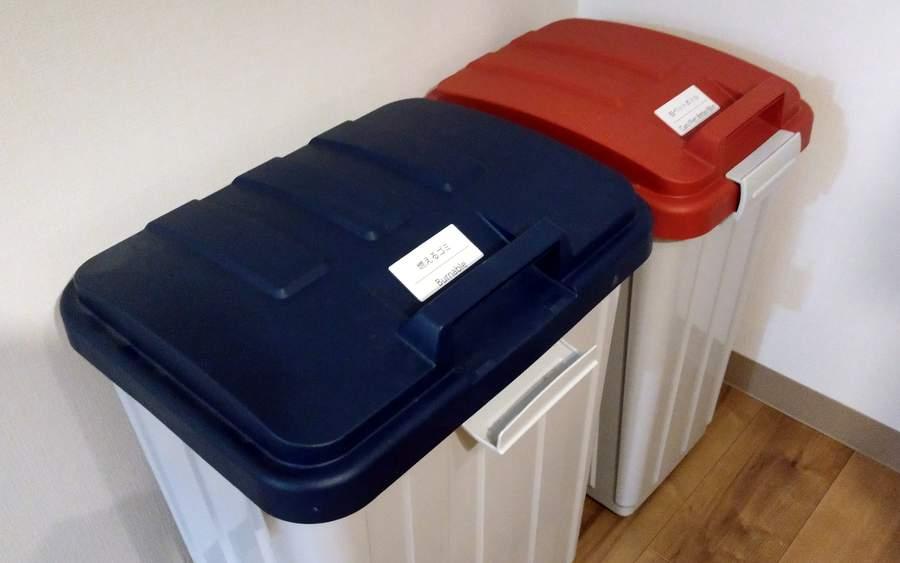 分別式のゴミ箱