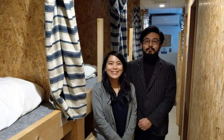 清水聖子さん(左)と嶋崎孝平さん(右)
