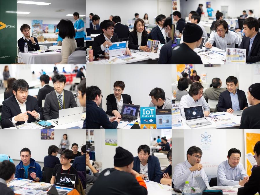 札幌市ITエンジニア、クリエイター・UIJターン合同フェア、相談する参加者2