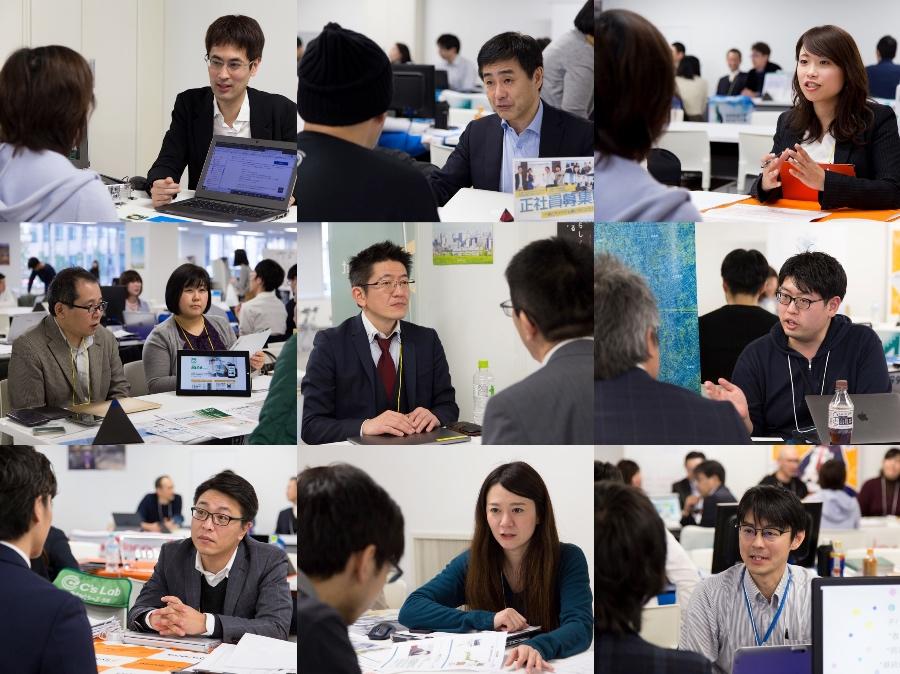 札幌市ITエンジニア、クリエイター・UIJターン合同フェア、相談する参加者3