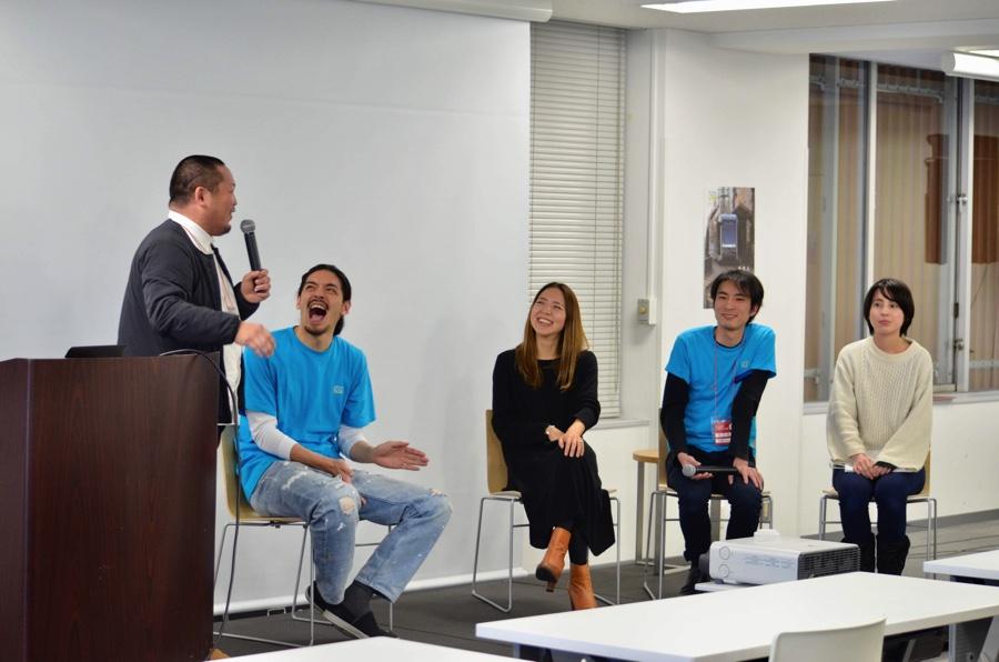 各発表後はトークセッションが開催。