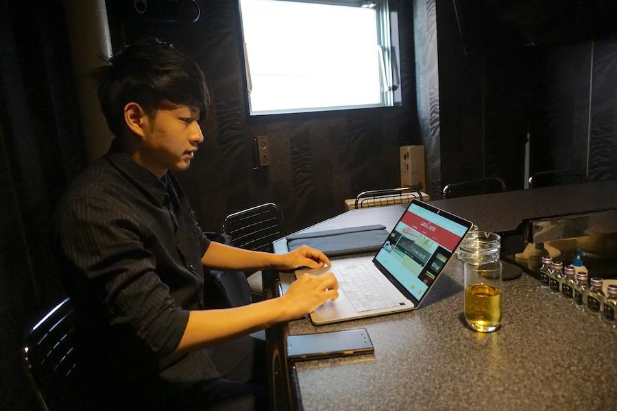 「Job Cinema」に就いて語る武田将也氏