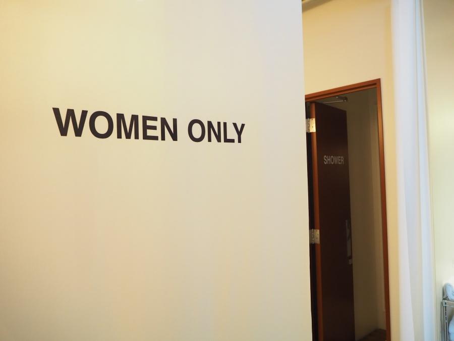 女性専用バスルーム