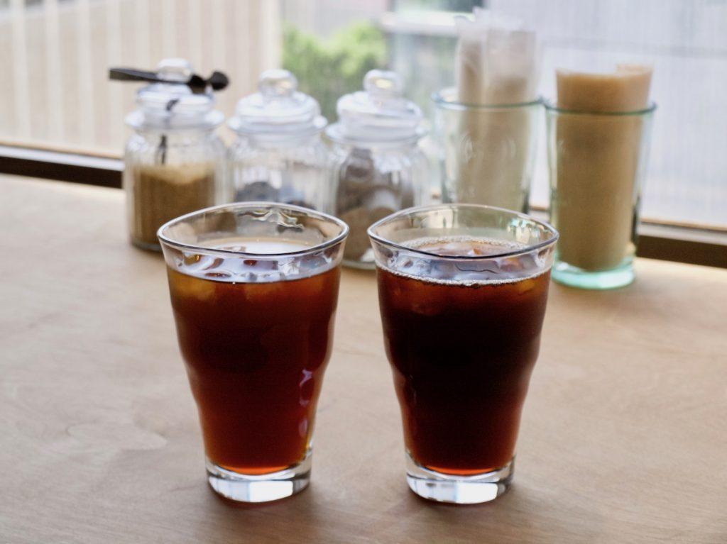 大人座 Otonaza のアイスコーヒー