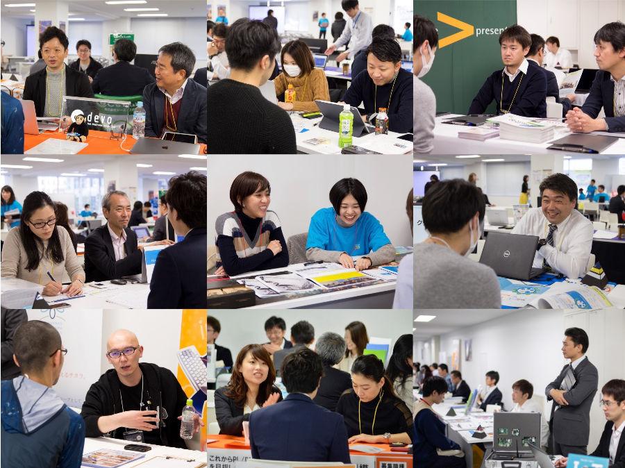 札幌市ITエンジニア、クリエイター・UIJターン合同フェア、相談する参加者4