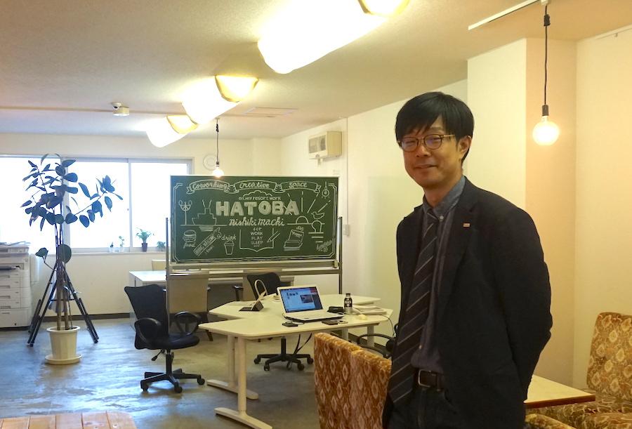 HATOBA運営担当 株式会社ユタカコーポレーション フィールドノート事業部 清水達也氏