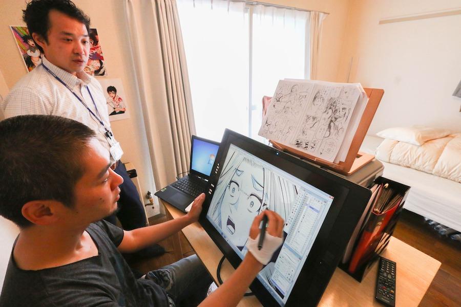 HATOBA立ち上げのきっかけとなった漫画家ホリユウスケ氏