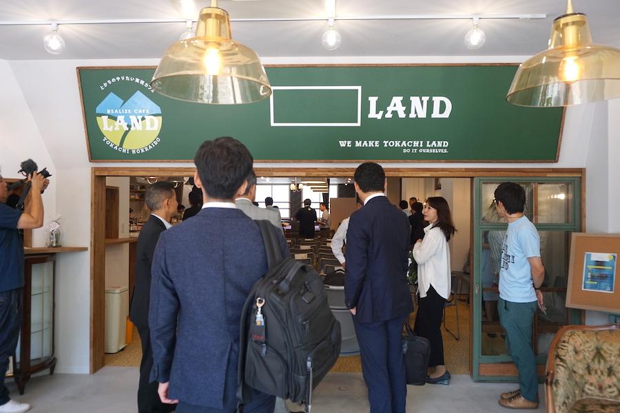 帯広駅徒歩1分!コワーキング利用も可能な事業創発拠点「LAND(ランド)」の内観
